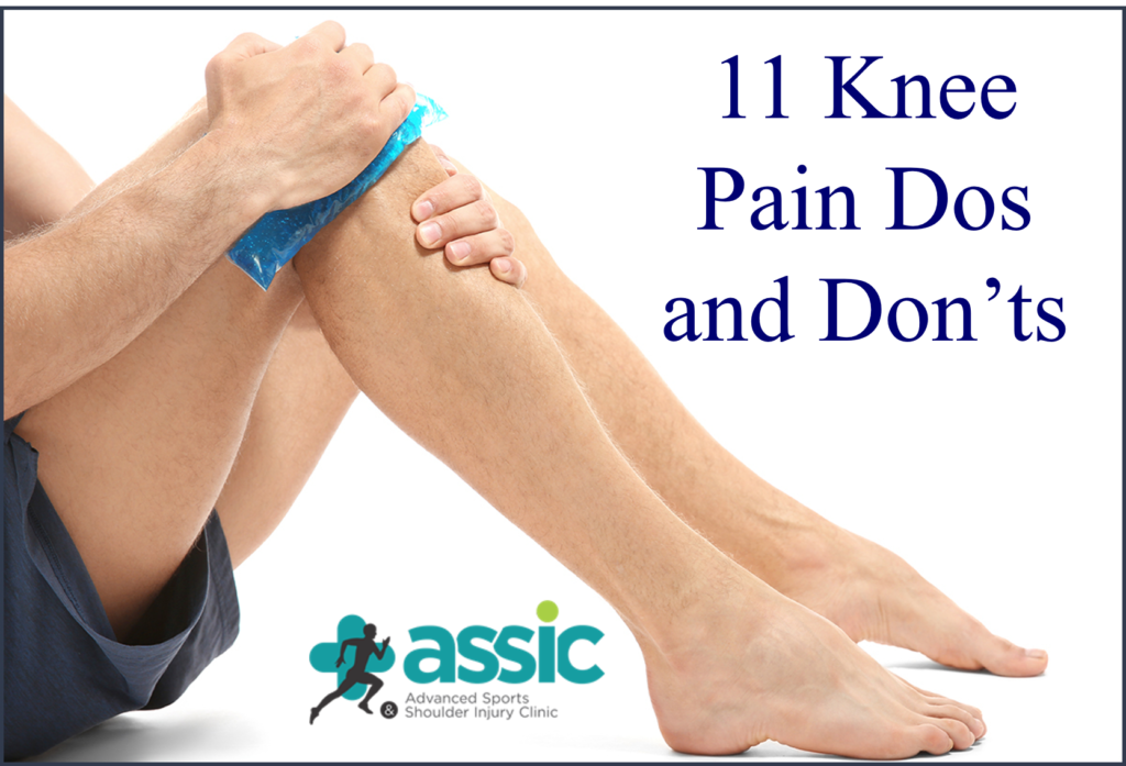 11 Knee Pain Dos and Don'ts explained by Orthopedic Surgeon in Ahmedabad